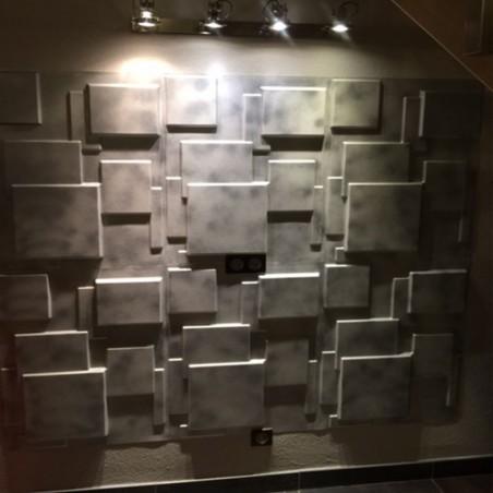 Panneau mural 3D Choc