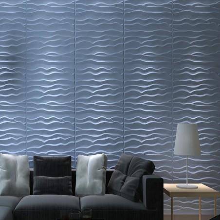 Panneau mural 3D Wave