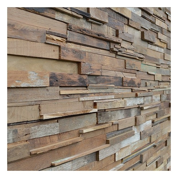 Panneaux bois courchevel for Decor mural bois