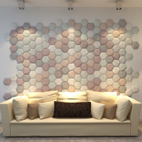 Revêtement mural 3D ARYA cuir
