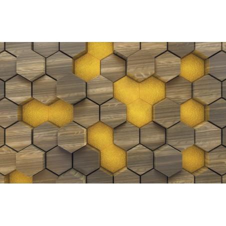 woodcomb olive intissé