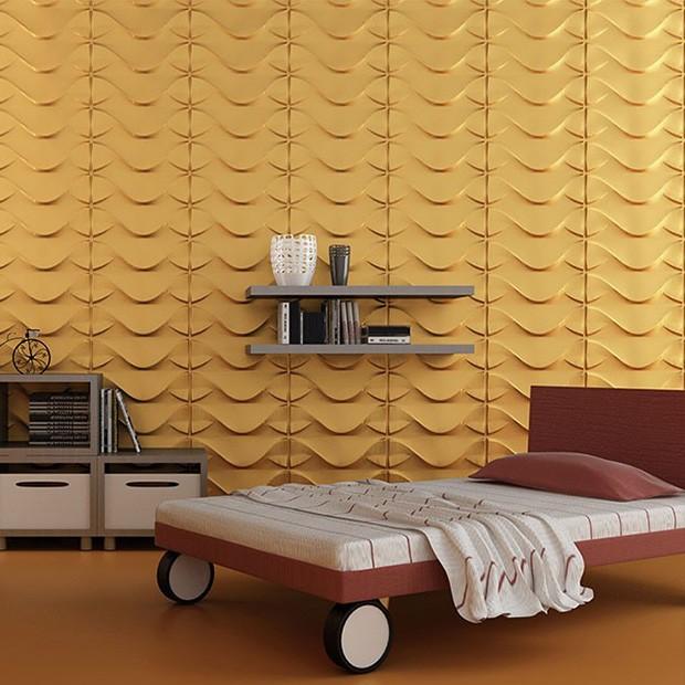 Panneau mural Wonder couleur gold
