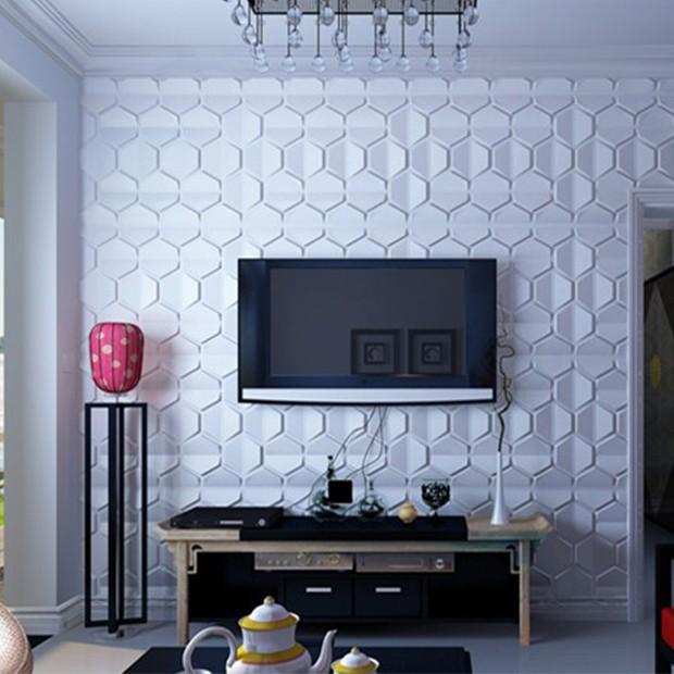 Panneau décoratif bee pour mur tv