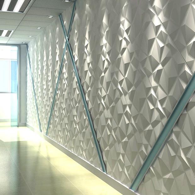 Panneau mural diamond hall d'entrée
