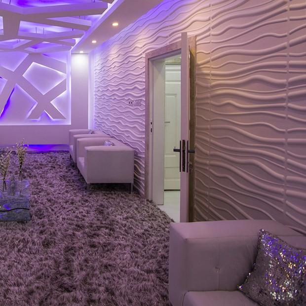 panneau mural 3d reed. Black Bedroom Furniture Sets. Home Design Ideas