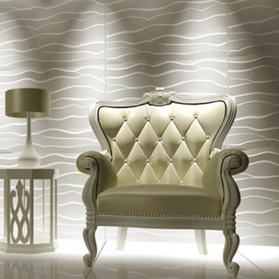 Panneau mural 3D Wave PVC