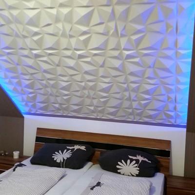 Panneau mural 3D Diamond PVC