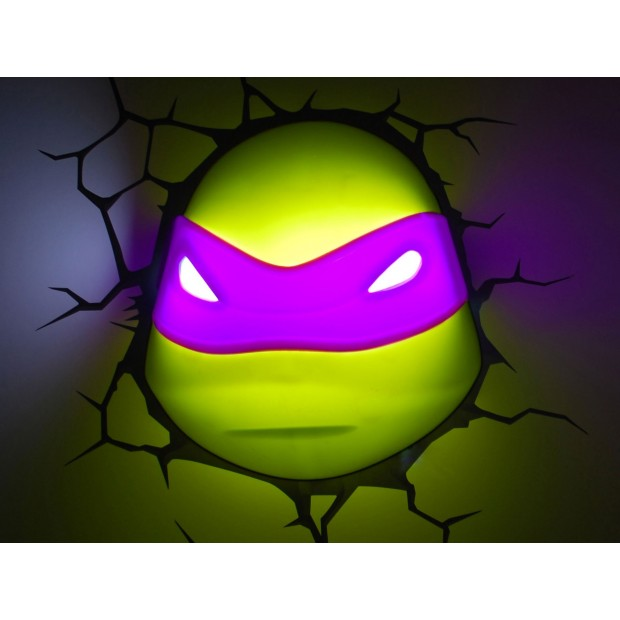 Achat lampe enfant tortue ninja donatello - Tortues ninja donatello ...