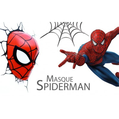 Lampe enfant SPIDER MAN 3D